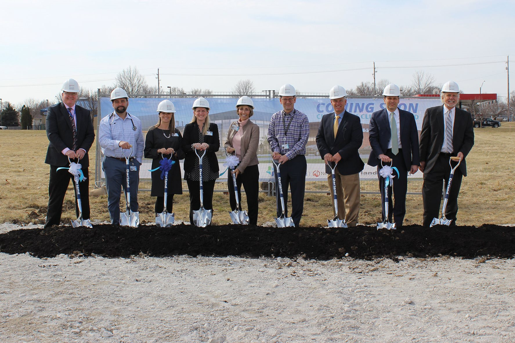 NexCore Breaks Ground for CHI Health Clinic Millard in the Southwest Omaha Metro