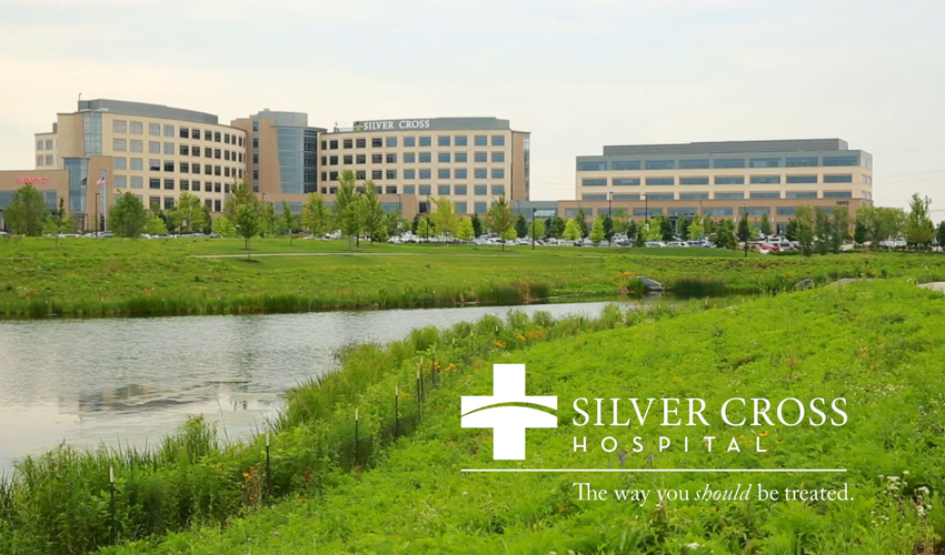 Tour the Award-Winning Pavilion A on the Silver Cross Hospital Campus, Outside of Chicago