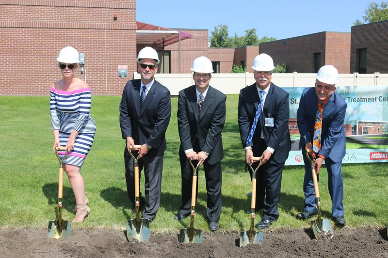 NexCore Group broking ground for the new CHI Health St. Francis Cancer Treatment Center in Grand Island