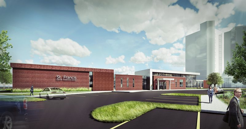NexCore Breaks Ground for CHI Health St. Francis Cancer Treatment Center