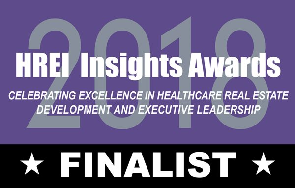 Three NexCore Group healthcare developments named 2018 HREI Insights Awards Finalists